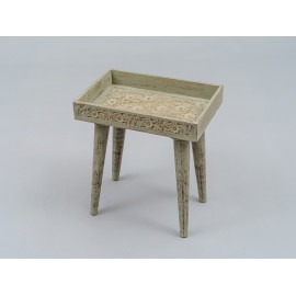 Wooden Carved Stool 1228A