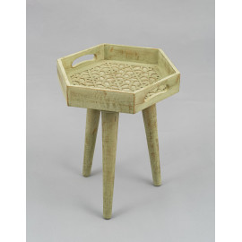 Wooden Carved Stool 1235A