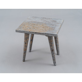 Wooden Carved Stool 1661B2