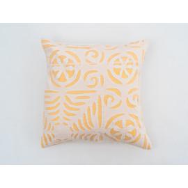'Applique' Orange Cushion...