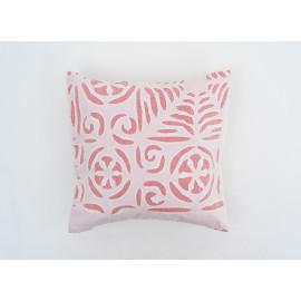 'Applique' Peach Cushion Cover