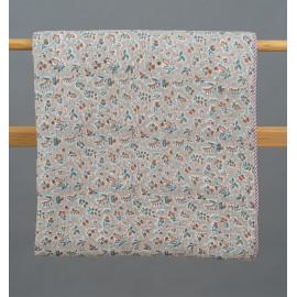 'Zubha' Block Printed Bedcover