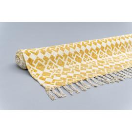 Handmade Rug with Yellow...