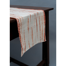 Rust Color Tie & Dye Table...