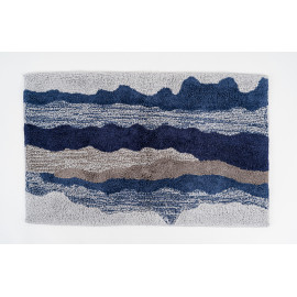 Dark Blue Bath Mat