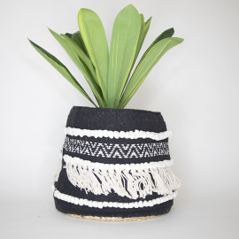 Handmade Boho Basket 02