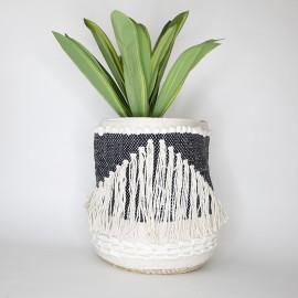Handmade Boho Basket 03