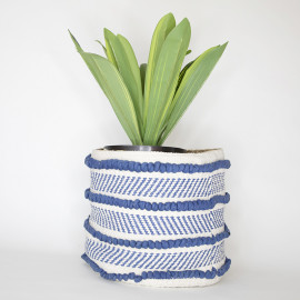 Handmade Boho Basket 04