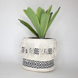 Handmade Boho Basket 06