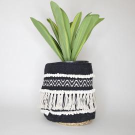 Handmade Boho Basket 07