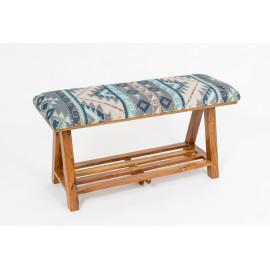 Handmade Boho Upholstery Bench
