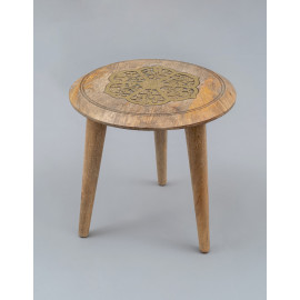 Wooden Carved Stool 1148B