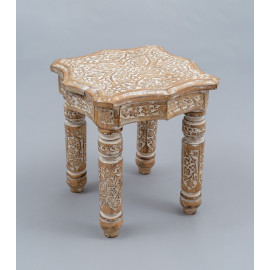 Wooden Carved Stool 1192B