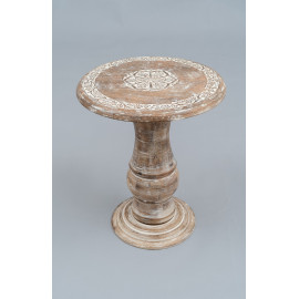 Wooden Carved Stool 1196